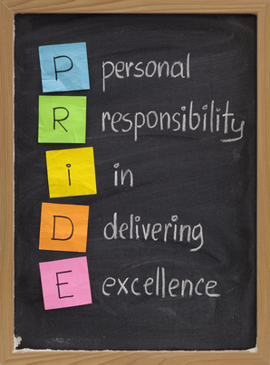 Responsibility in delivering excellence